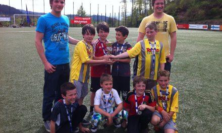 E-Junioren ordentlich beim ENBW-Cup