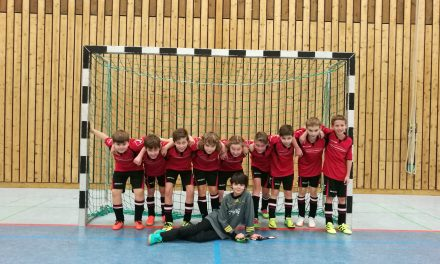 E-Junioren gewinnen Zwischenrunde