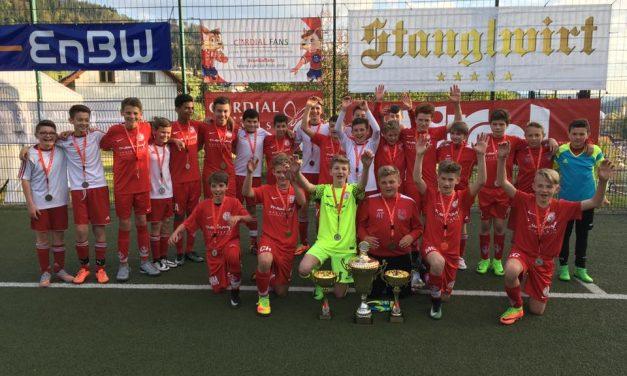 U13 wird 2. beim EnBW-Cup