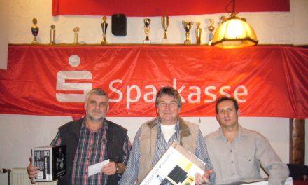 Bernd Haas gewinnt Skat-Turnier