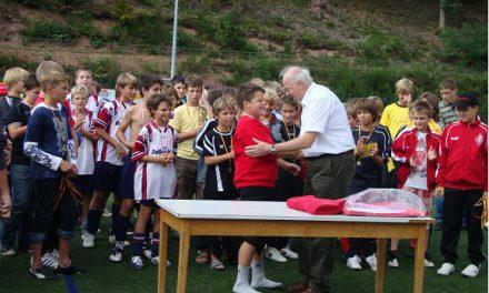 D-Junioren 1. und 4. beim 22. Jugendsportfest in Loffenau