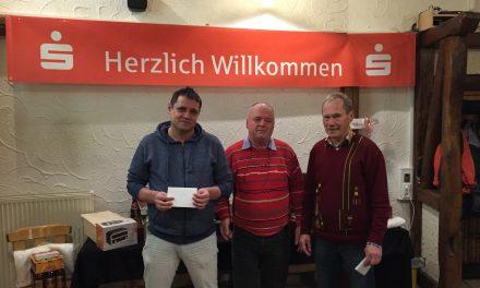 Gerhard Kraft gewinnt FVH-Skatturnier