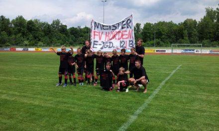 "E-Junioren ""Champions-League""-Sieger"
