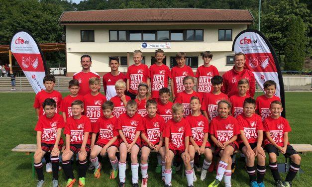 E-Junioren feiern Meisterschaft